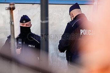 POLEN-WARSCHAU-COVID-19-FÄLLE