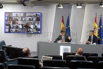 SPANIEN-MADRID-Alarmzustand