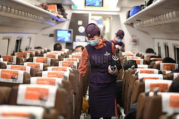 CHINA-URUMQI-XI'AN-Shinkansen (CN)