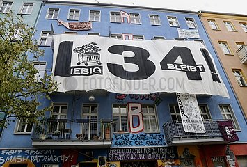 Räumung des Hausprojektes Liebig 34