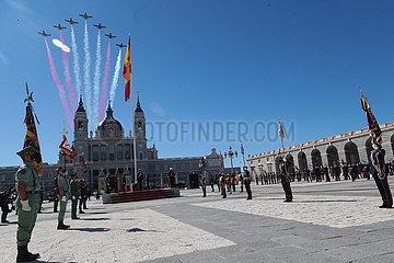SPANIEN-MADRID-NATIONALTAG-FEIER