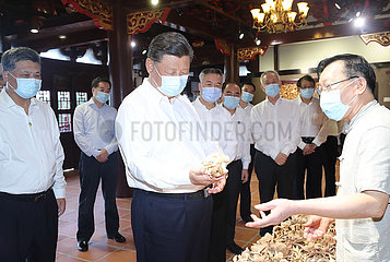 CHINA-GUANGDONG-XI jinping-Inspektion (CN)