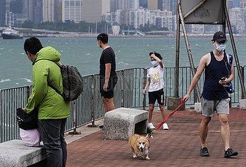 CHINA-Hongkong TYPHOON Nangka (CN)