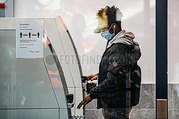 DEUTSCHLAND-BERLIN-COVID-19-F € LLE