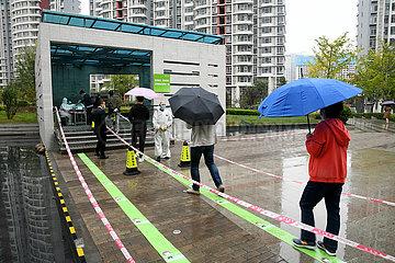 CHINA-SHANDONG-QINGDAO-COVID-19-City-WIDE-PRÜFUNG (CN) CHINA-SHANDONG-QINGDAO-COVID-19-City-WIDE-PRÜFUNG (CN)
