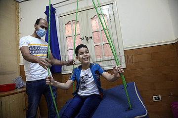 ÄGYPTEN-KAIRO-DISABILITY-SANIERUNG