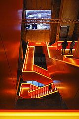 Ruhr Museum auf der Zeche Zollverein  Essen  Ruhrgebiet  Nordrhein-Westfalen  Deutschland