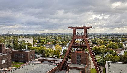 Zeche Zollverein  Essen  Ruhrgebiet  Nordrhein-Westfalen  Deutschland