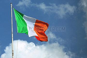 Hoppegarten  Deutschland  Nationalfahne von Irland