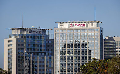 Evonik Hauptverwaltung  Essen  Ruhrgebiet  Nordrhein-Westfalen  Deutschland
