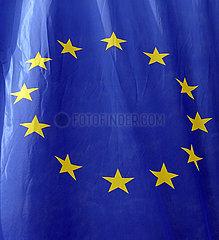 Berlin  Deutschland  Fahne der Europaeischen Union