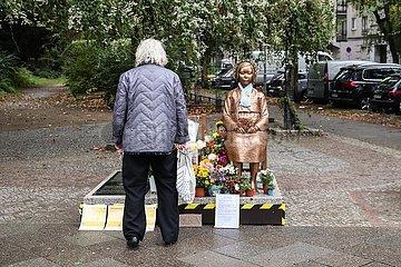 DEUTSCHLAND-BERLIN- 'comfort women' STATUE
