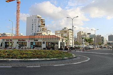 ISRAEL-TEL AVIV-COVID-19-LOCKDOWN
