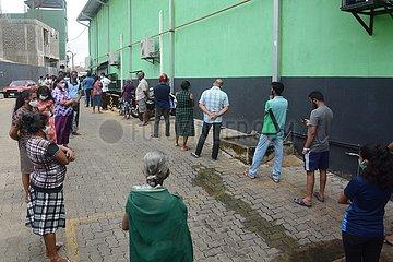 SRI LANKA-Gazette COVID ON-19 VORSICHTSMAßNAHMEN