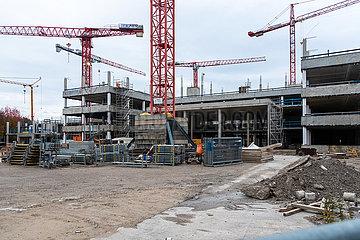 Baustelle am EInsteinring 30