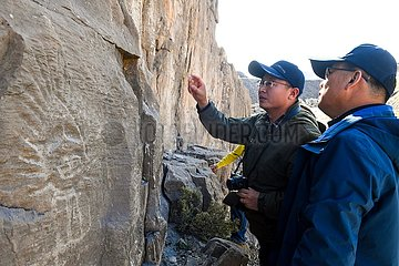 CHINA-INNER MONGOLIA-Wuhai-ROCK DRAWING (CN)