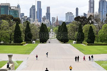 AUSTRALIEN-COVID-19-SPERRE-EASE