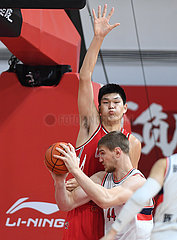 (SP) CHINA-ZHEJIANG-ZHUJI-BASKETBALL-CBA-LIGA-QINGDAO VS GUANGZHOU (CN) (SP) CHINA-ZHEJIANG-ZHUJI-BASKETBALL-CBA-LIGA-QINGDAO VS GUANGZHOU (CN)