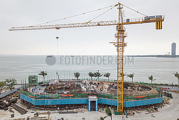 CHINA-HAINAN-HAIKOU BAY-LIBRARY-CONSTRUCTION (CN)