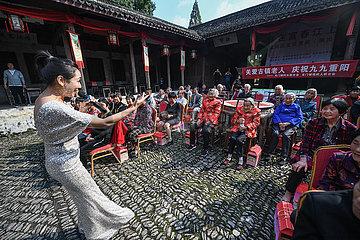 CHINA-ZHEJIANG-Hangzhou-Chongyang FEST-EVENT (CN) CHINA-ZHEJIANG-Hangzhou-Chongyang FEST-EVENT (CN)
