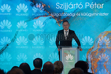 UNGARN-BUDAPEST-CHINA-HUAWEI-OPERATION Jubil € UM