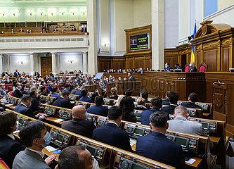 UKRAINE-KIEV-PRESIDENT-ANNUAL ADDRESS-DONBAS