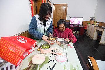 CHINA-HUNAN-CHANGSHA-SENIOR PEOPLE-COMMUNITY KITCHEN (CN)