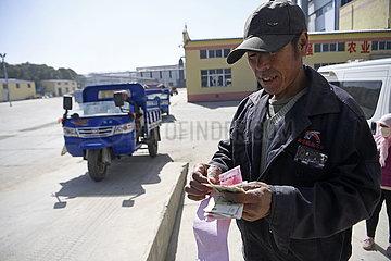 CHINA-NINGXIA-Guyuan Kartoffel-LESE (CN)