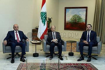LIBANON-BEIRUT-PRIME MINISTER-HARIRI