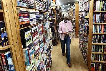 US-LOS ANGELES-COVID-19-unabhängige Buchhandlungen