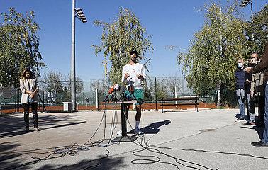 (SP) SERBIEN-BELGRAD-TENNIS-Novak Djokovic