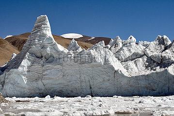 CHINA-TIBET-GANGBUG Gletscher (CN)