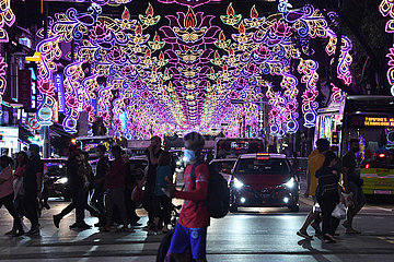 SINGAPORE-DEEPAVALI FESTIVAL-PREPARATION