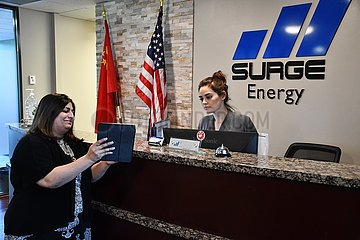 U.S.-TEXAS-HOUSTON-SURGE ENERGY-OIL FIELD BUSINESS-EXPANSION