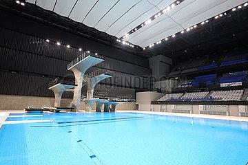 (SP)JAPAN-TOKYO-OLYMPICS-AQUATICS CENTRE-OPENING CEREMONY