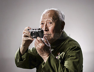 (Porträt) CHINA-CPV-VETERANE 70TH Jahrestag (CN)