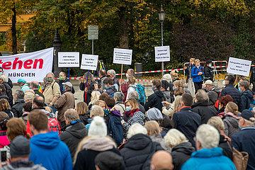 Aufstehen für Kultur Protest