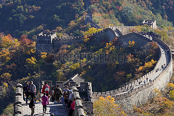 CHINA-PEKING-GREAT WALL-AUTUMN VIEW (CN)
