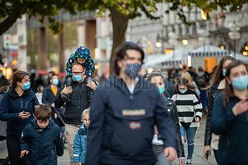 Maskenpflicht in München