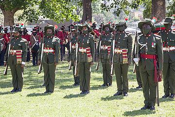 ZAMBIA-LUSAKA-INDEPENDENCE DAY-56TH ANNIVERSARY