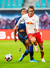 (SP)GERMANY-LEIPZIG-FOOTBALL-BUNDESLIGA-RB LEIPZIG VS HERTHA BERLIN