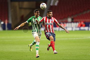 (SP) SPAIN-Madrid FOOTBALL-spanischen LIGA-ATLETICO DE Madrid gegen REAL BETIS