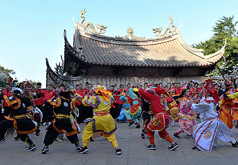 CHINA-FUJIAN-PUTIAN-MAZU-PARADE (CN)