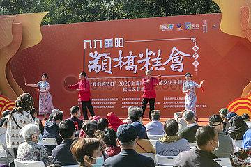 CHINA-Shanghai-Chongyang Festival (CN)