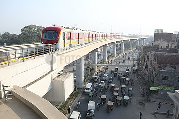 PAKISTAN-LAHORE-FIRST LINE SUBWAY-OPEN