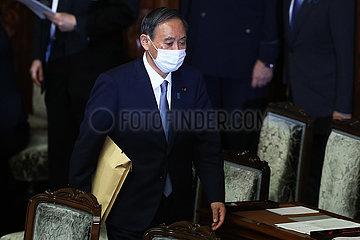 JAPAN-TOKYO-PM-POLITIK SPEECH