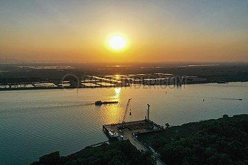 CHINA-GUANGDONG-Autobahnkonstruktion (CN)