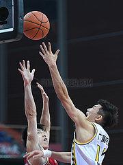 (SP)CHINA-ZHUJI-BASKETBALL-CBA LEAGUE-ZHEJIANG LIONS VS ZHEJIANG GOLDEN BULLS (CN)