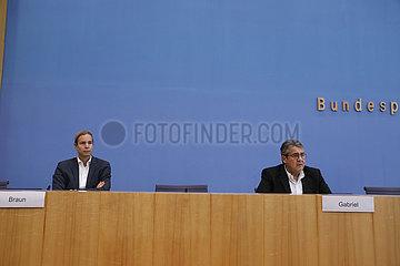 Bundespressekonferenz zum Thema: Die USA vor der Wahl: Das deutsche Meinungsbild