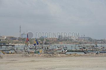 GHANA-ACCRA-CHINA-AID-FISHING PORT